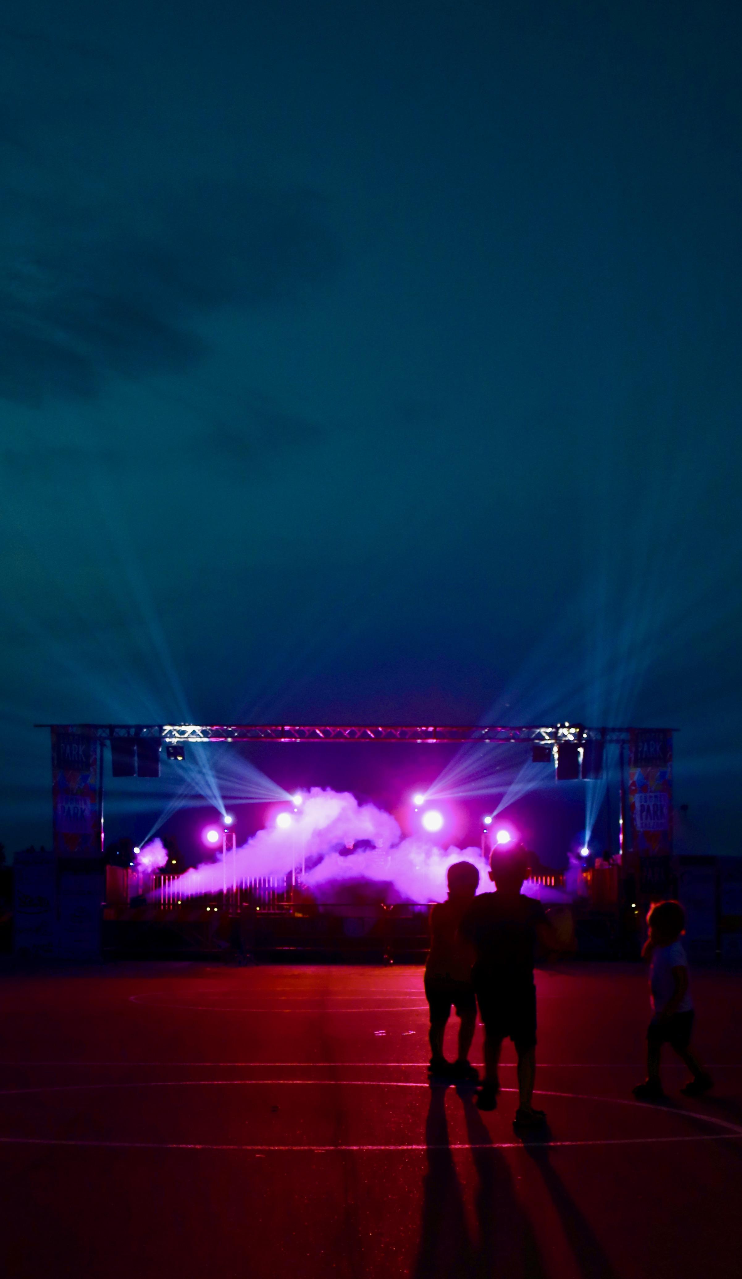 Palco coperto a Summer Park Salzano Festival
