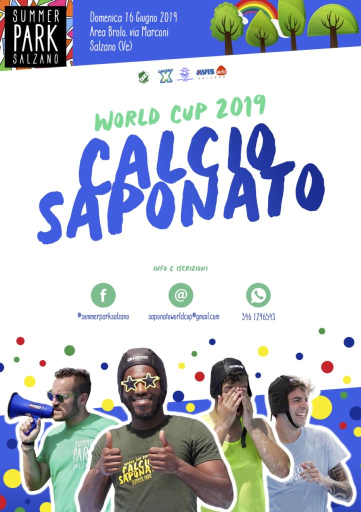 Volantino Calcio saponato 2019